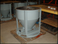 Tote Batch Hopper for Foundry